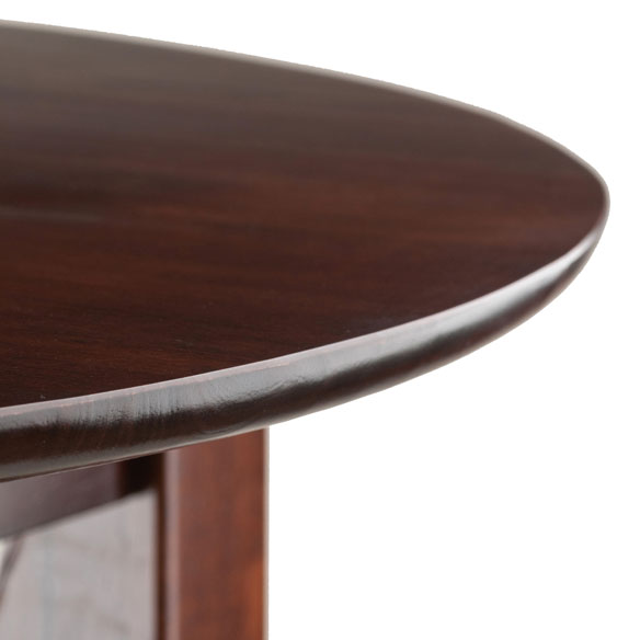 Fiona Round 3pc High Pub Table Set Winsome Wood